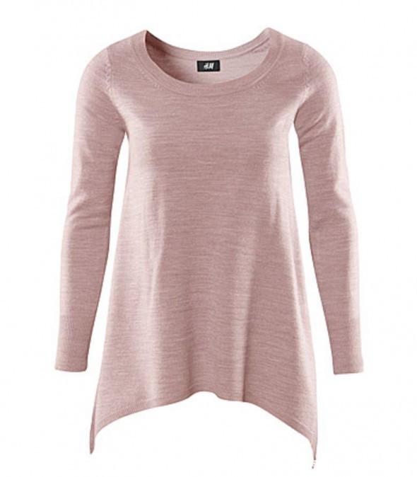 asymetryczny sweterek