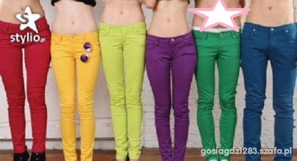 Spodnie H i M ruraski zielone