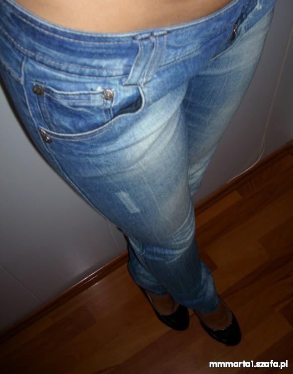 Spodnie RESERVED JEANSY