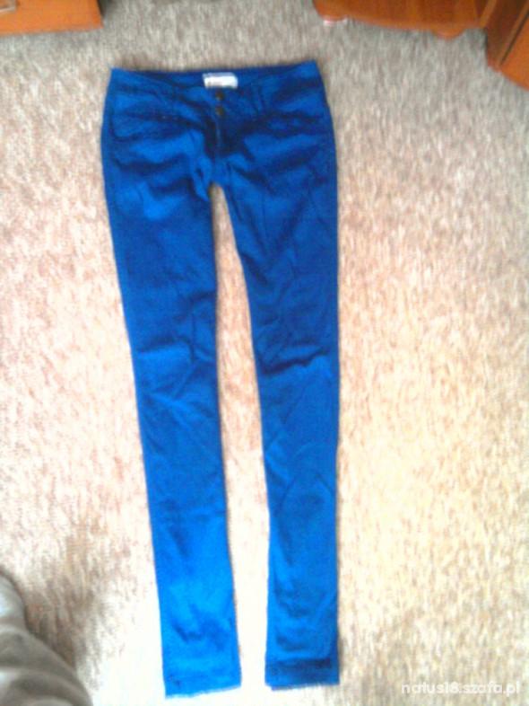Spodnie chabrowe rurki