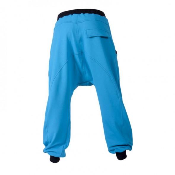 Spodnie Spodnie dresowe baggy pumpy czerwone happy fit