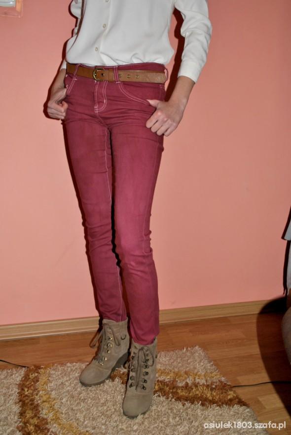 Spodnie HIT Bordowe spodnie