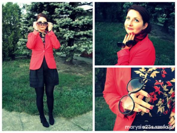Mój styl Jesień w kolorze czerwonych liści