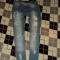 spodnie dziury ONLY