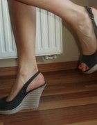 Sandały platformy