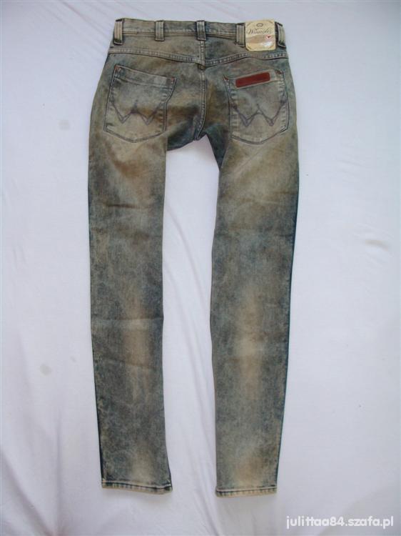 Spodnie Wrangler nowe marmurki 38M