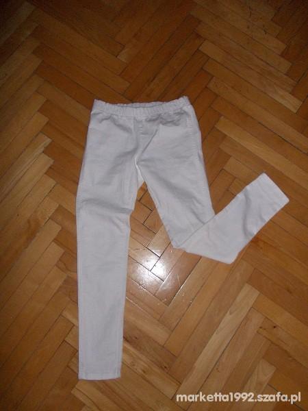 Spodnie Spodnie białe treginsy roz 34