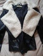 Ramoneska z kożuszkiemrozmiar SXScena z wysyłką