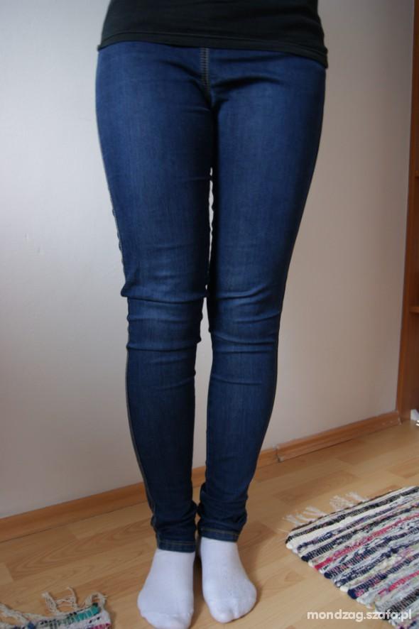 Spodnie JEANSY LEGINSY