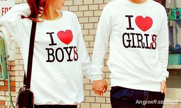 napis i love my boyfriend i love my girlfriend