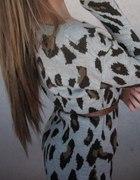 sweter panterkowy stradivarius