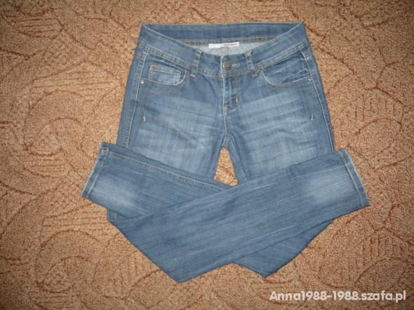 Spodnie 2 pary rurek markowe stan idealny S