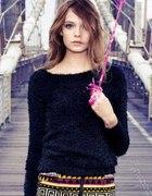 h&m włochaty sweterek 40 42