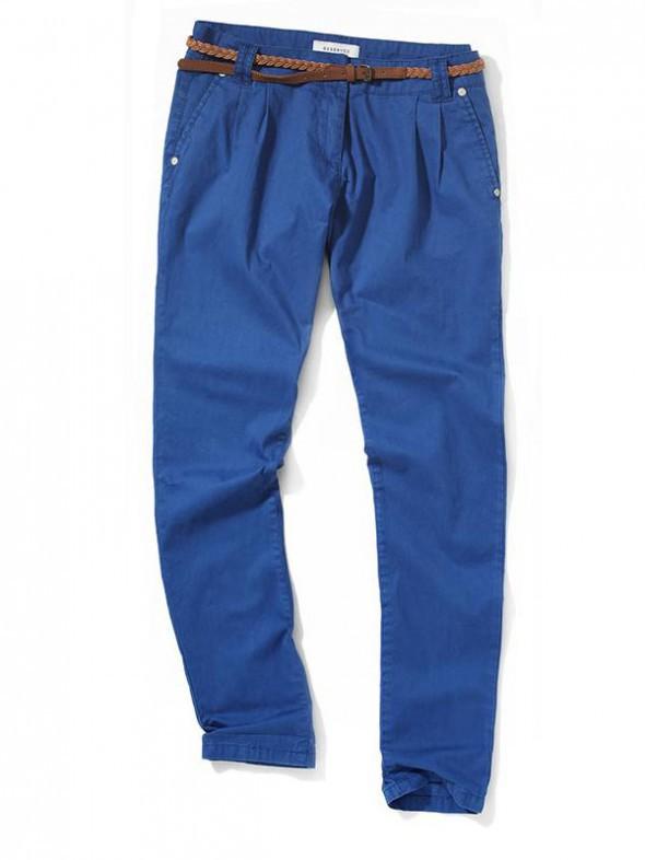 Spodnie Haremki kobaltowe REserved