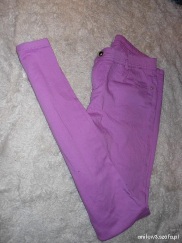 Spodnie sliczne rureczki