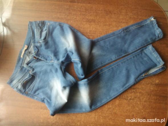 Spodnie Jeansy zip