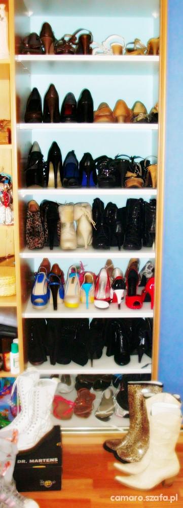 Moje buty mój nałóg kolekcja butów...
