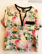 HM floral print top