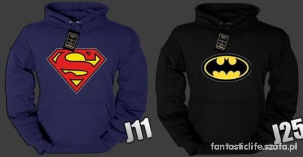 bluza superman batman M