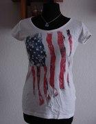 Tshirt z flagą USA