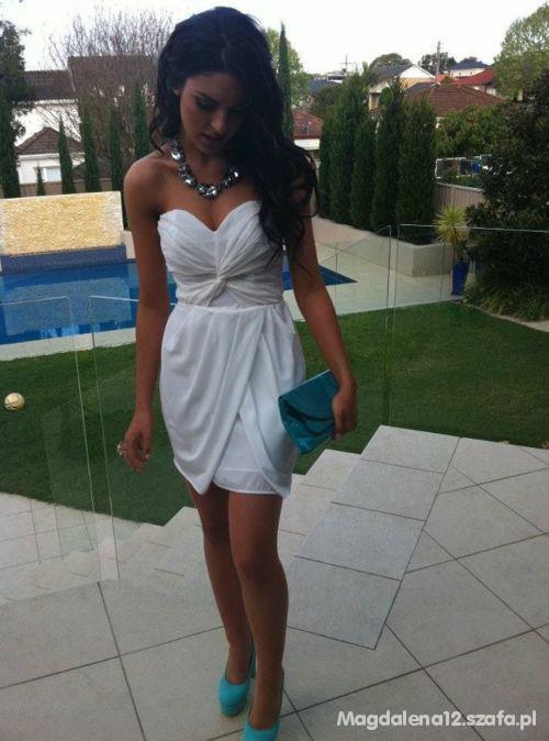 Suknie i sukienki Śliczna biała