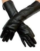 Długie włoskie skórzane rękawiczki...