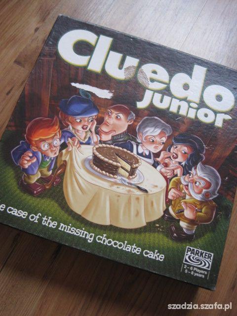 Zabawki CLUEDO JUNIOR JAK NOWA