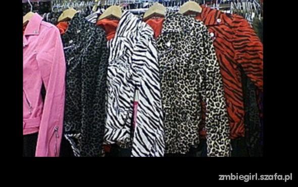 Ramoneska panterka zebra punk...