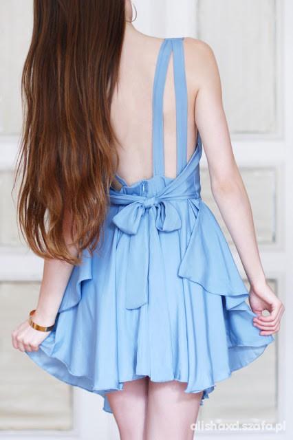 Suknie i sukienki SUKIENKA ROMWE ZAŁOŻONA TYLKO RAZ