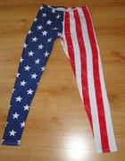 legginy flaga ameryki new yorker M