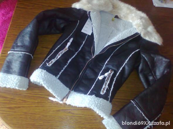 kożuszek czarny