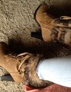 Mój wczorajszy zakup sznurowane botki na obcasie