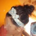 pin up apaszka włosy
