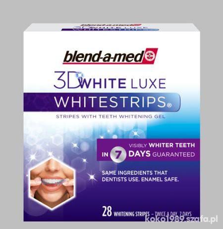 blend a med Whitestrips 3D White LUXE...