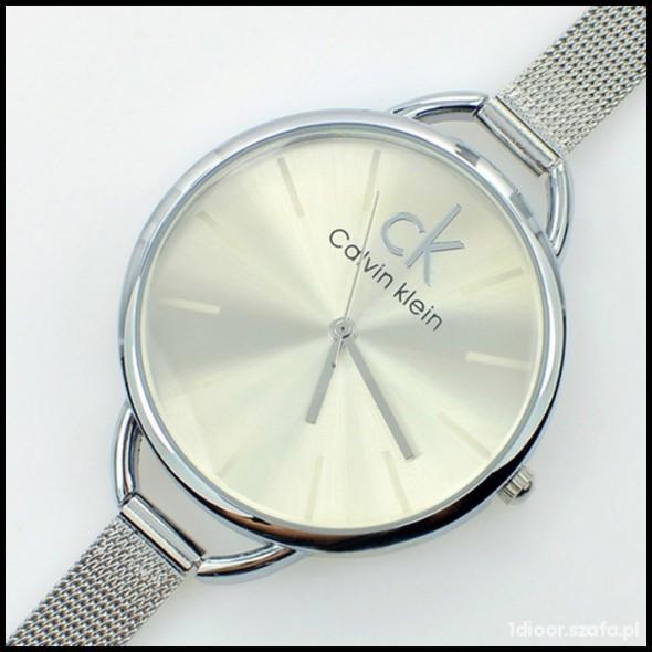 5b41373d4fb4b zegarek CALVIN KLEIN CK srebrna bransoletka NOWY w Zegarki - Szafa.pl