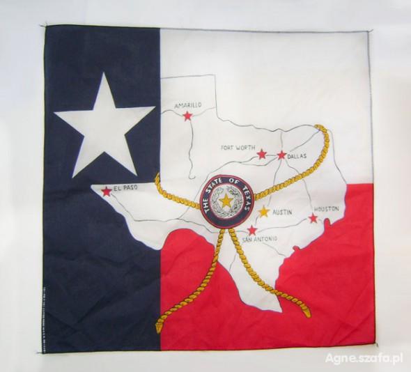 Chusty i apaszki chusta amerykańska flaga