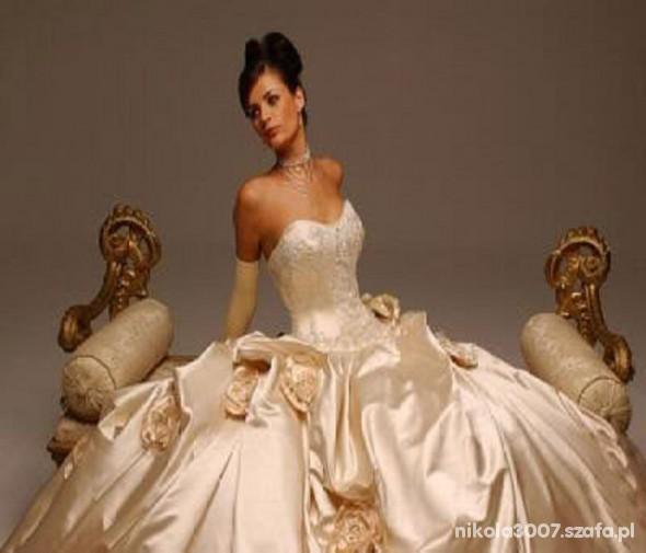 Na specjalne okazje Bajkowa Suknia Ślubna