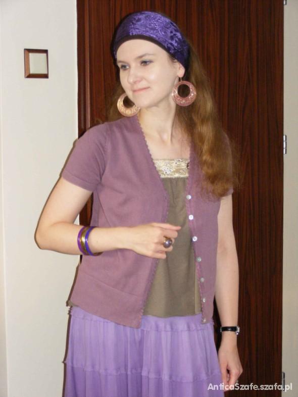Mój styl W odcieniach fioletu