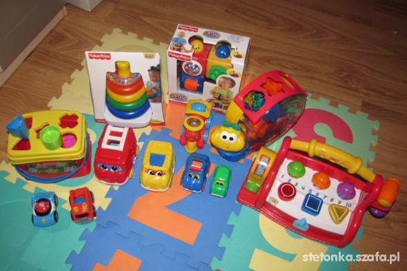 Zabawki mega zestaw edukacyjny Fisher Price