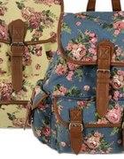 Plecak kwiaty