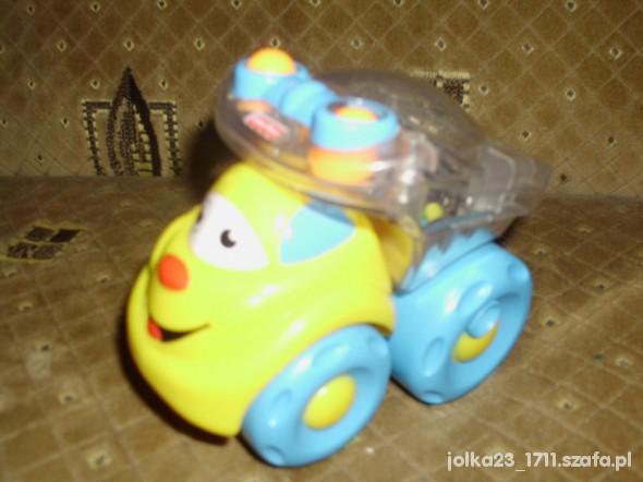 Zabawki samochodzik fisher price ze skaczacymi koralikami