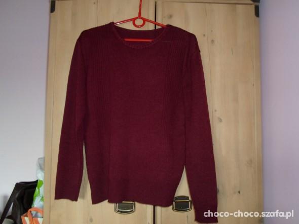 Burgundowy sweterek SH