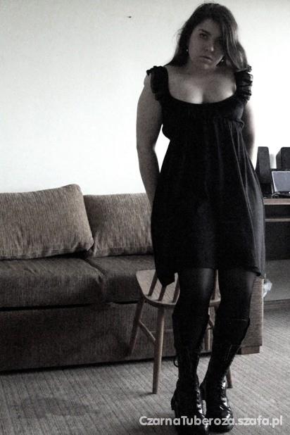 Mój styl Czarna codzienna