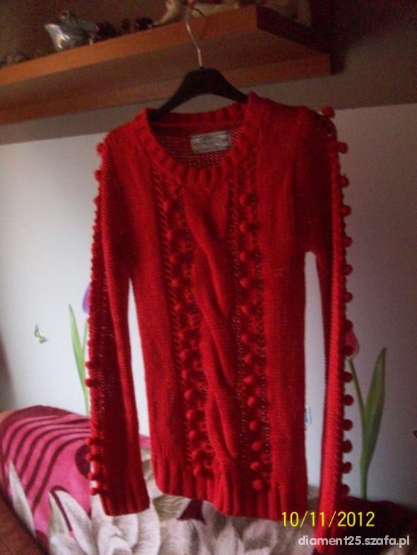 Atmosphere sweterek czerwony xs s