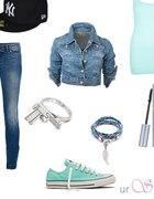 Mięta i jeans