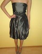 elegancka sukienka bombka...