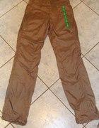 złote spodnie sportoe reebok xs 34
