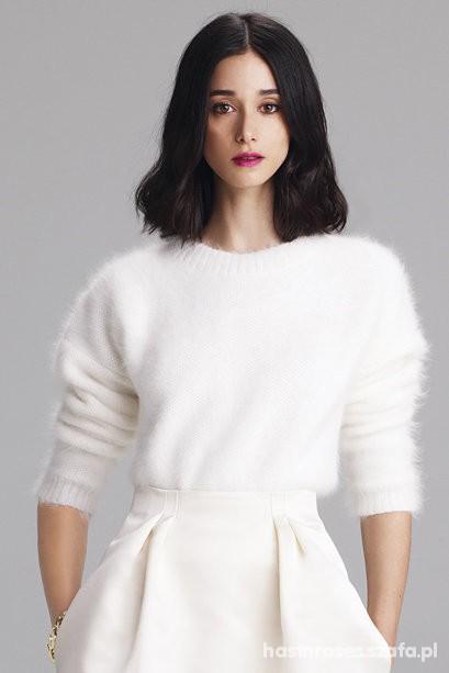 Kremowy sweterek angora Lana del Rey