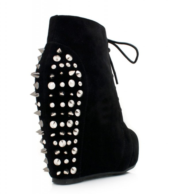 Black Wedges kolce Spike