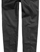 woskowane spodnie Reserved ze złotym zipem